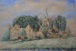 Schilderij Kethel, in bezit van nazaten dr. Sauer, gekregen bij zijn 25 jarig jubileum